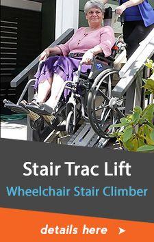 Stair Trac Wheelchair Lift and Stair Climber