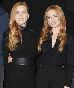 Isla Fisher Replaced Her Face with Amy Adams's on a Holiday Card and No One Noticed from InStyle.com