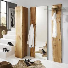 Garderobenset Woodkid I (3-teilig) - Eiche massiv