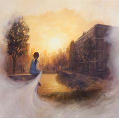 Sem Título - Matthew Weathers e suas pinturas | O pintor da luz