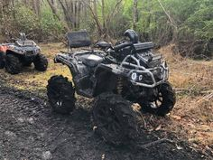 Michael Papp an Karlee Mabus Can Am Atv, Jacked Up Trucks, Four Wheelers, Dirtbikes, Atvs, My Ride, Offroad, Quad, Monster Trucks