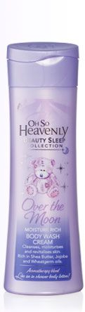 Oh So Heavenly Over the moon moisture rich body wash cream - the best body wash ever! Along with the Bye Bye Stress body wash cream from the same line I have been using it for over 7 months now and love it! Best Body Wash, Over The Moon, Sleeping Beauty, Moisturizer, 7 Months, Bye Bye, Cream, Heavenly, Stress