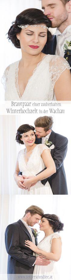 Brautpaar bei Winterhochzeit in der Wachau Braut Make-up, Ruffle Blouse, Women, Fashion, Newlyweds, Wedding Pie Table, Fairy, Snow, Nice Asses