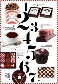 Exaggerated use of #s, colorful border, Kate Spade blog