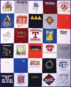 30 tshirts - I'm doing this for my son who is graduating High school, with all of his tshirts from growing up...