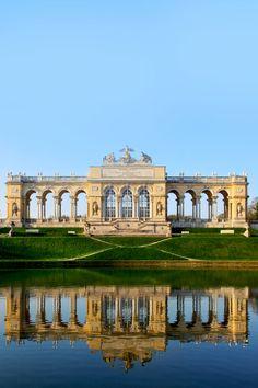 La Glorieta en el Palacio de Schonbrunn jardín, Viena, Austria