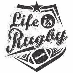 Coat Life is rugby T-shirt Design Rugby Sport, Rugby Tattoos, Rugby Rules, Boy Sports Bedroom, Brush Embroidery, All Blacks Rugby, Super Rugby, Book Folding, Dibujo