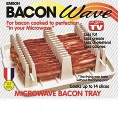 Emson Bacon Wave, Microwave Bacon Cooker, New Emson Bacon... https://www.amazon.com/dp/B00VFKORK8/ref=cm_sw_r_pi_dp_x_ly-hAbG3FBWHT