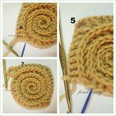 ergahandmade: Crochet Blanket + Free Pattern Step By Step + Diagram