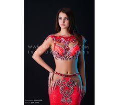 Professional bellydance costume (classic 136 a)