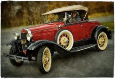 1931 Model A Ford - My grandma had one of these.