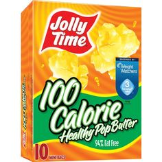 Jolly Time 100 Calorie Healthy Pop Butter Microwave Popcorn Mini Bags, 10 Count Boxes (Pack of 6) * Be sure to check out this awesome product.