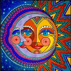 Reminds me of Laurel Burch zzz