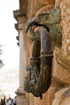 Eagle or bird door knocker - Aldaba - stockphoto on Foter