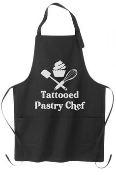 Tattooed Pastry Chef Apron