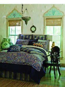 peacock color bedroom
