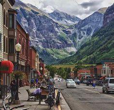 Colorado- It was so pretty in the winter..