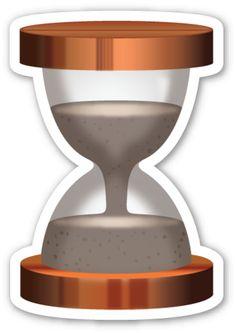 Hourglass   EmojiStickers.com