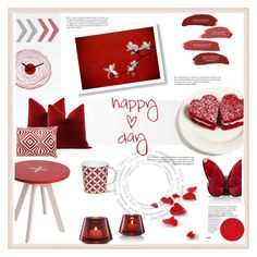 happy valentine day by levai-magdolna on Polyvore featuring interior, interiors, interior design, home, home decor, interior decorating, Baccarat, Loloi Rugs and Whiteley