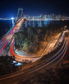 San Francisco Bay Bridge by Marcus Aurelius by San Francisco Feelings