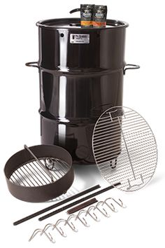 Take a look at the Pit Barrel Cooker (PBC), an amazing smoker and grill. We give you all the tips, tricks, and techniques you need to get the best bbq out of it. All You Need Is, Ugly Drum Smoker, Barrel Smoker, Uds Smoker, Pit Barrel Cooker, Charcoal Smoker, Best Charcoal, Steel Drum, Smoking Meat