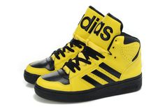 new style f6fb1 da861 Adidas Jeremy Scott Originals JS Instinct Hi Yellow Shoes Adidas Cheap,  Adidas Pas Cher,