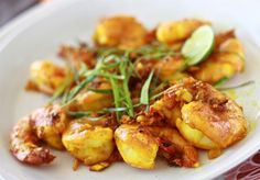 Turmeric shrimp recipe by SeasonWithSpice.com
