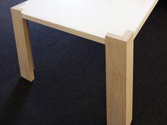Lacquered rectangular wooden office desk SOCIETA' ARMATORIALE Collection by Plan W I Werkstatt für Räume | design Ulrich P. Weinkath