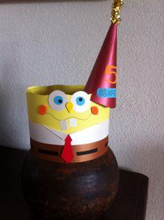 SpongeBob! Verjaardagshoed van Cora