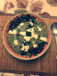 Persian Ash-eh-reshteh soup recipe. Full of healthy greens! Check out the recipe on www.persianjoons.com