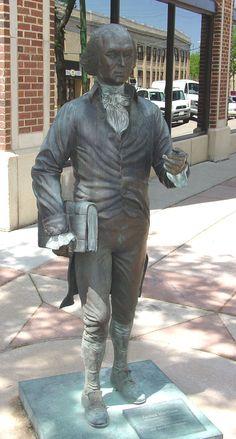 James Madison, Presidential Walk, Rapid City, South Dakota