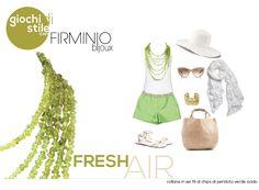 #Fresh Air! Play with us on https://www.facebook.com/notes/firminio-bijoux/fashion-contest-di-firminio-bijoux/462558837166950