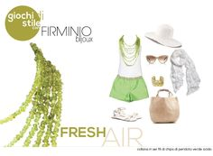 #Fresh Air! Play with us on https://www.facebook.com/notes/firminio-bijoux/fashion-contest-di-firminio-bijoux/462558837166950