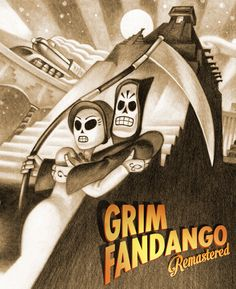 """""""Grim Fandango"""" survived for 15 years on a mess of ancient storage devices that are about as easy to access today as eight-track tapes."""