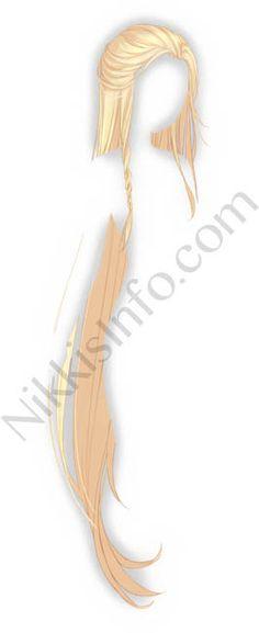Female Anime Hairstyles, Girl Hairstyles, Chinese Hairstyles, Hair Horn, Elf Hair, Deidara Wallpaper, Anime Elf, Cute Kawaii Girl, Pelo Anime
