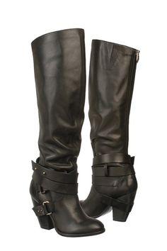 Fergie  Black Varsity Tall Boot