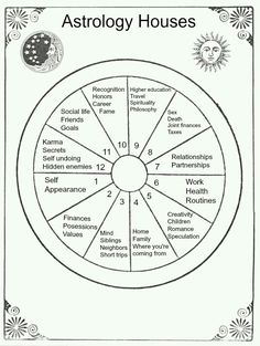 Astrology Houses Chart