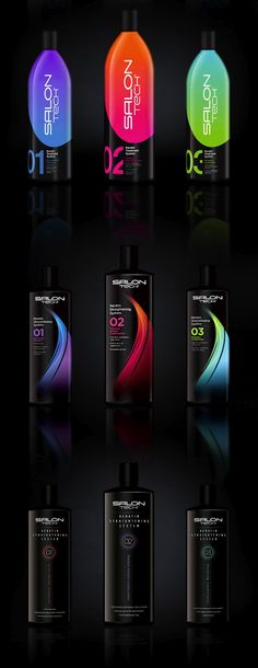 Packaging of the World: Creative Package Design Archive and Gallery: Salon Tech Keratin Treatment