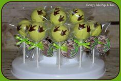 Jurassic Park Cake Pops- Cake Pops & More Easley, SC