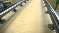 Supported linear rail for CNC on the cheap...