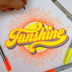 Beautiful! One of my favorite lettering artists on Instagram el_juantastico