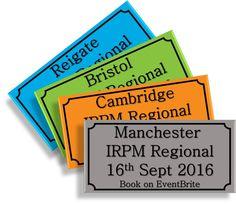 #IRPM #Regionals in #Manchester #Cambridge #Bristol & #Reigate - #booknow http://buff.ly/2b85h3B
