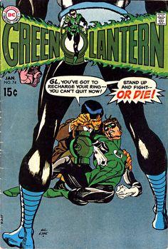 Green Lantern 74 cover by Gil Kane