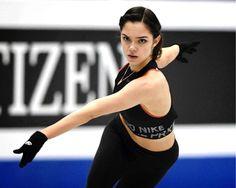 Evgenia Armanovna Medvedeva エフゲニア・メドベージェワ⛸ Ice Skating, Figure Skating, Medvedeva, Spanish Language Learning, Pose Reference, Good People, Skate, Anatomy, Dancer