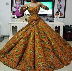 Really like Africa fashion African Fashion Ankara, African Fashion Designers, Latest African Fashion Dresses, African Inspired Fashion, African Print Fashion, Africa Fashion, African Style, African Prom Dresses, African Wedding Dress