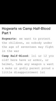 To camp halfblood tiny people with weapons go if you don't want to fight your going anyways because you getting zapped by a noiseless guy otherwise