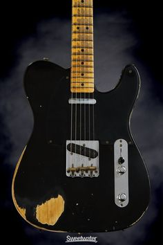 Fender Custom Shop Sweetwater Special '52 Telecaster - Black, Heavy Relic