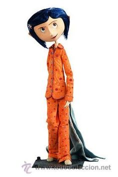 It would be so AWESOME to have an exact replica of Coraline, Norman, Eggs, or Winnie. Like, one that can actually move around so I can set them up and stuff. Coraline Toys, Coraline Costume, Tim Burton Characters, Cartoon Characters, Dark Nursery, Laika Studios, Illustration Girl, Character Concept, Character Design