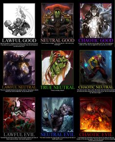 World of Warcraft Alignment Chart Warcraft Funny, Art Warcraft, World Of Warcraft Game, Warcraft Movie, Family World, Chaotic Neutral, Wow Art, Stuff And Thangs, Starcraft