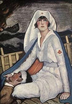 May 6 - National Nurses Day.my birthday!also the reason its this day is because of florence nightingale, who i was just reading about for history! History Of Nursing, Medical History, Nurse Pics, National Nurses Day, Nurse Aesthetic, Nurse Art, Vintage Nurse, American Red Cross, Expositions
